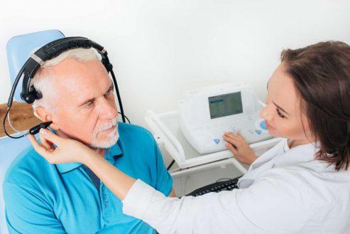 Presbyacousie ou perte d'audition